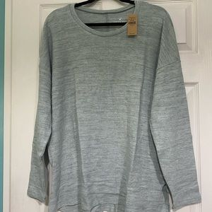 American Eagle Outfitters Tops - Women's American Eagle Long Sleeve Shirt XXL Gray